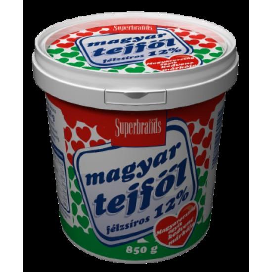 Alföldi Magyar Tejföl 12% 850 G