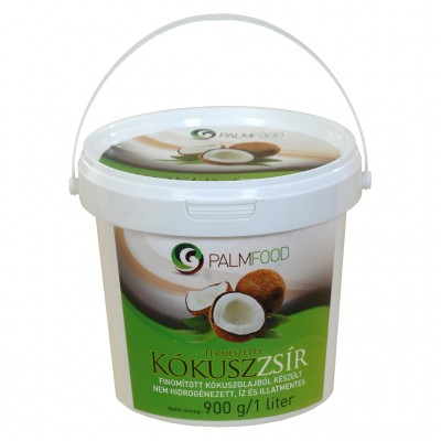 Palm Food Kókuszzsír ( olaj ) 1l