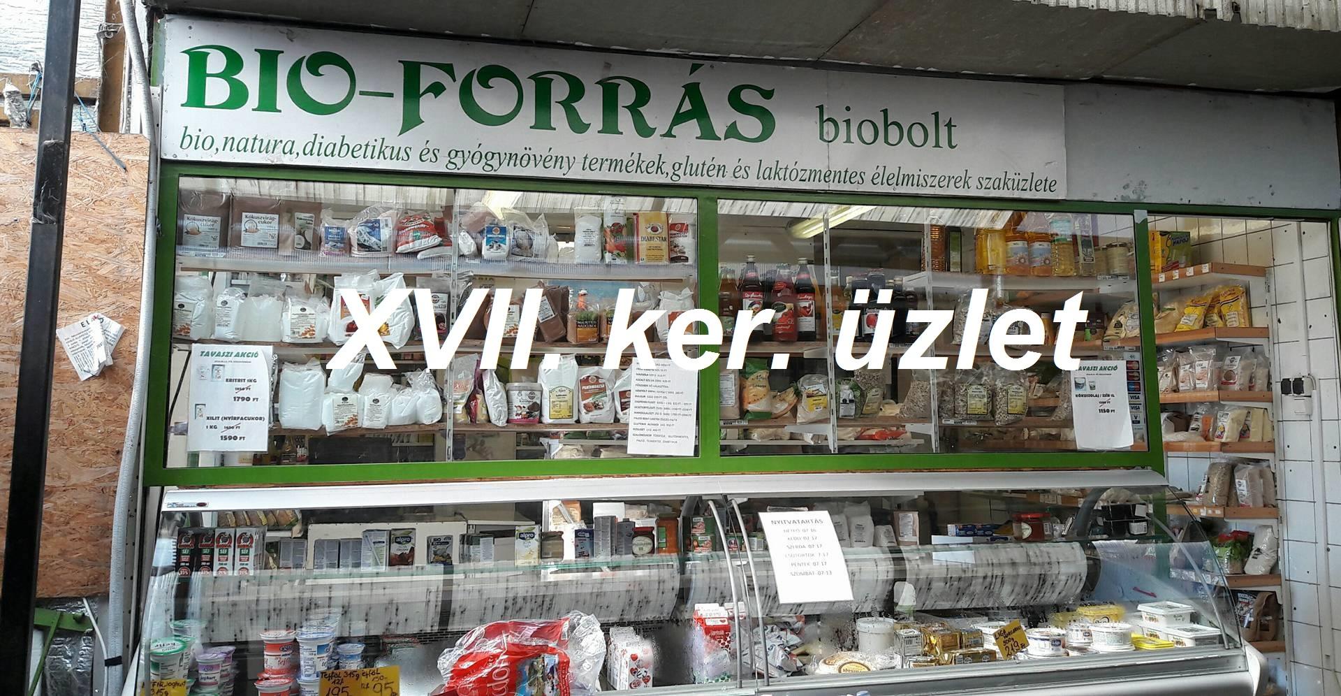 Budapest XVII. ÜZLET